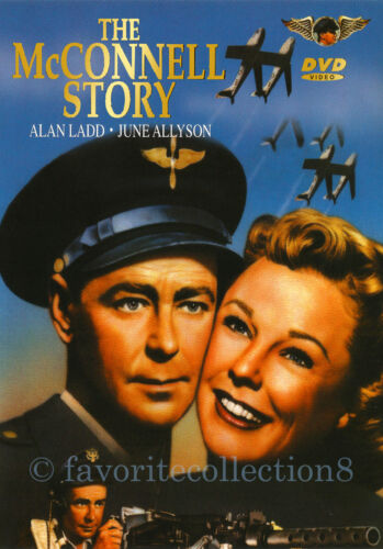 The McConnell Story (1955) - Alan Ladd, June Allyson (Region All)