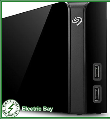 "Seagate 8TB 3.5"" Backup Plus External Desktop HDD USB Hub STEL8000300"