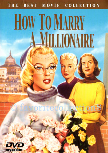 How to Marry a Millionaire (1953) - Marilyn Monroe, Betty Grable - DVD NEW