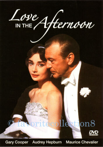 Love in the Afternoon (1957) - Gary Cooper, Audrey Hepburn - DVD NEW