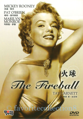 The Fireball (1950) - Marilyn Monroe, Mickey Rooney, Pat O'Brien - DVD NEW