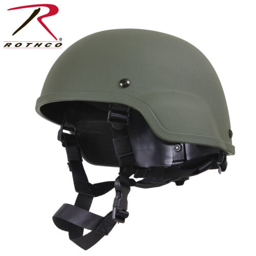 Olive Drab ABS Mich-2000 Replica Military Tactical Helmet Rothco 1997 Brand NewHats & Helmets - 36076
