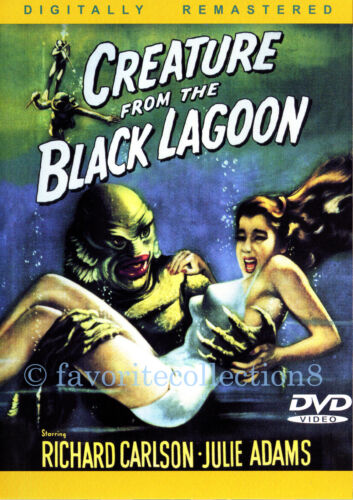 Creature from the Black Lagoon (1954) - Richard Carlson, Julie Adams - DVD NEW