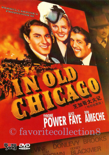 In Old Chicago (1937) - Tyrone Power, Alice Faye - DVD NEW