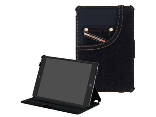OFFICIAL DIESEL IPAD 2 IPAD 3 DENIM HARD CASE SHELL STAND BRAND NEW IN BOX GIFT