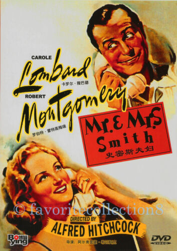 Mr. & Mrs. Smith (1941) - Alfred Hitchcock, Carole Lombard - DVD NEW