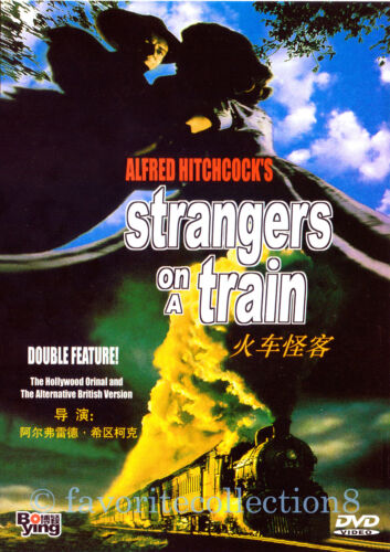 Strangers on a Train (1951) - Alfred Hitchcock, Farley Granger - DVD NEW