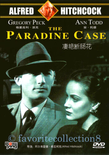 The Paradine Case (1947) - Gregory Peck, Ann Todd - DVD NEW