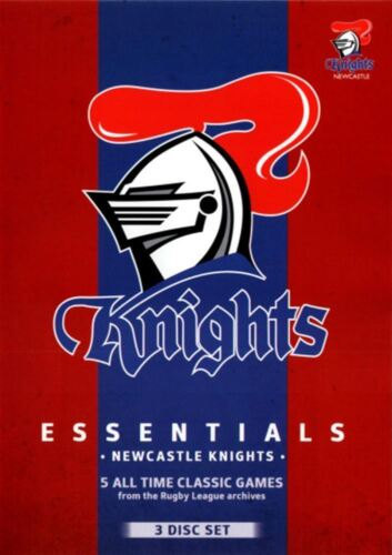 NRL - Essentials - Newcastle Knights (DVD, 2013, 3-Disc Set) - Region 4