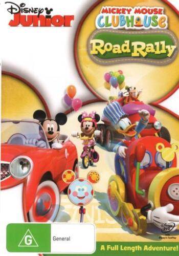 Mickey Mouse Clubhouse: Road Rally  - DVD - NEW Region 4