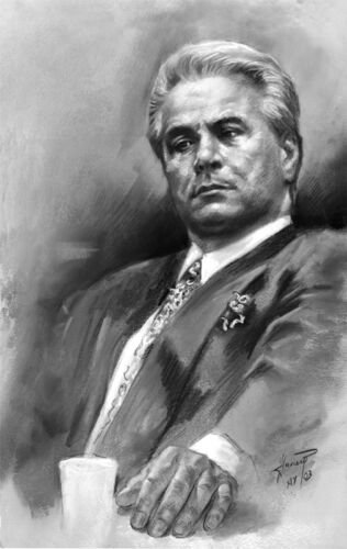 John Gotti, Giclee print on Gallery Wrapped canvas by Star
