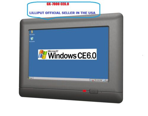"""LILLIPUT 7"""" GK-7000 Industrial Control Device WINCE6.0 panel PC 400MHz Processor"""