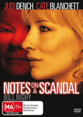 Notes on a Scandal  - DVD - NEW Region 4