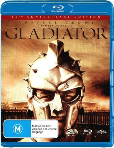 Gladiator  - BLU-RAY - NEW Region B