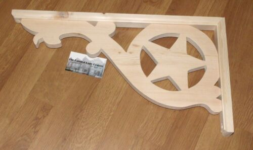 """Victorian Wood Gingerbread { 20"""" x 11"""" } Porch & House Trim Bracket #33 ~ by PLD"""
