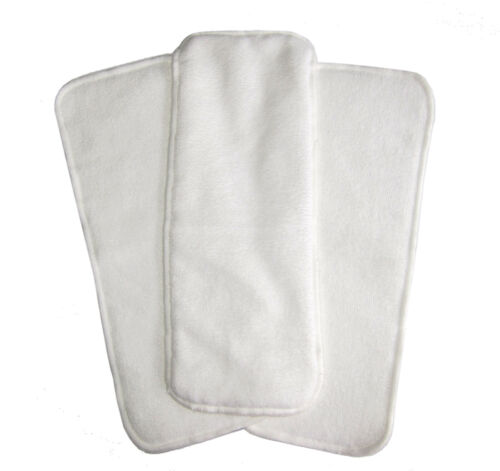 20 x Microfibre inserts/boosters to suit Modern Cloth Nappies (MCN) Bulk Pack