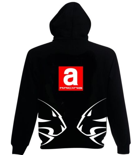 Aprilia INSPIRED A RACING Hoodie  BLACK small to xxl motorcycle biker