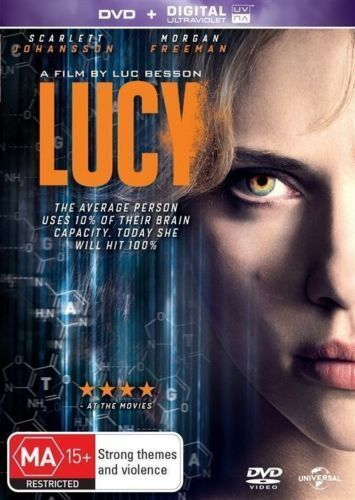 Lucy (DVD, 2014) R4