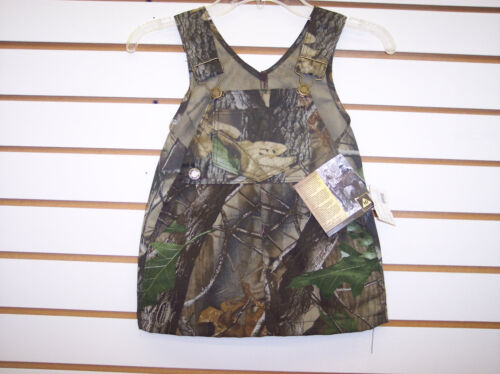 Infant/Toddler Girls Realtree Camo Overall Dress Sizes 12 Month - 4T