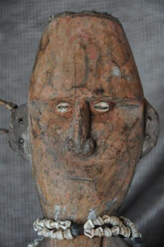 Old Papua New Guinea Ancestral Figure… with Shell Neck Piece...