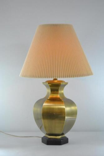 FREDERICK COOPER BRASS GINGER JAR OCTAGON TABLE LAMP