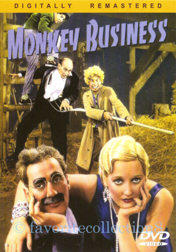 Monkey Business (1931) - The Marx Brothers - DVD NEW