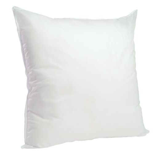 Foamily Hypoallergenic Square Euro Pillow Form Insert ALL SIZES Made In USA