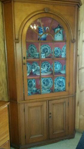 WONDERFUL  200 YEAR OLD CORNER CABINET
