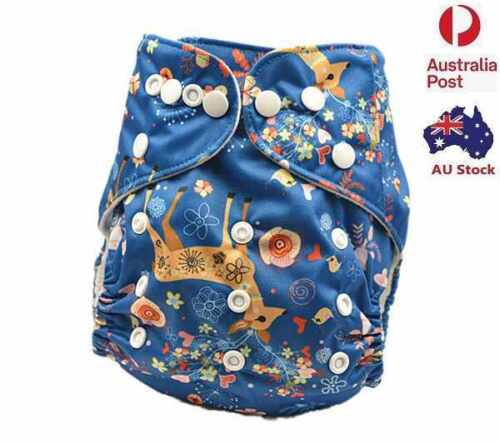 New Reusable modern Baby Cloth Nappies Diapers Adjustable newborn nappy (D239)