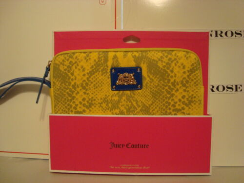 """Juicy Couture 10"""" Tablet Case - Python Snake Yellow"""