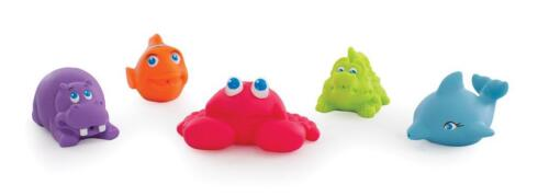 Brand NEW Playgro Under The Sea Squirtees 5pcs Bathtime Fun Squirt Water Play