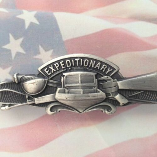 US Navy Enlisted Expeditionary Warfare Specialist Badge| USN | MISSION | COMBATModern, Current - 36066