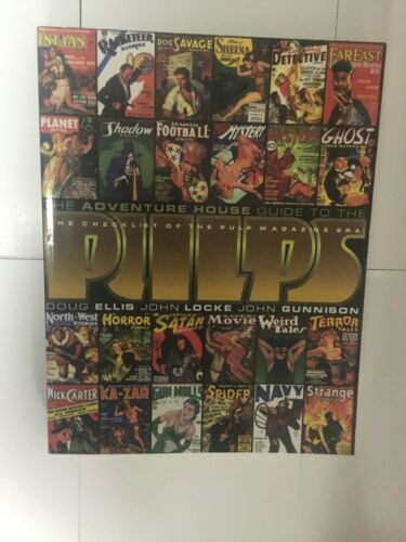 The Adventure House Guide to the Pulps. VG Condition