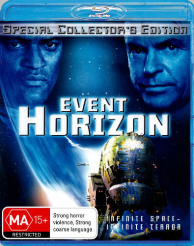 Event Horizon  Blu-Ray Region B