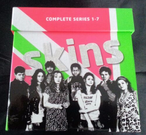 Skins : Complete Series 1-7 Box Set (DVD, 2013) New Region 4