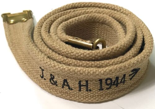 WWII BRITISH ENFIELD RIFLE CANVAS CARRY SLINGGreat Britain - 156433