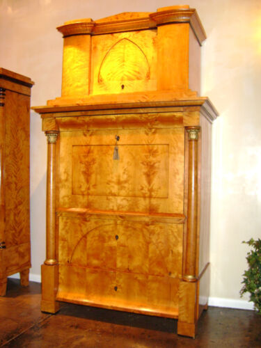 Biedermeier Secretary 1860's- Stunning  Magnificent Central Germany
