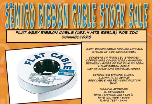 40 way Ribbon Cable - 500ft roll (152.4M)