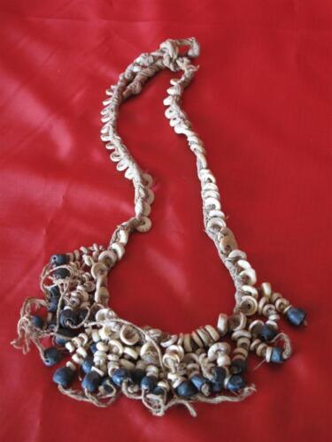 Old New Guinea Currency Kina Shell & Seed Necklace… from the Central Highlands..