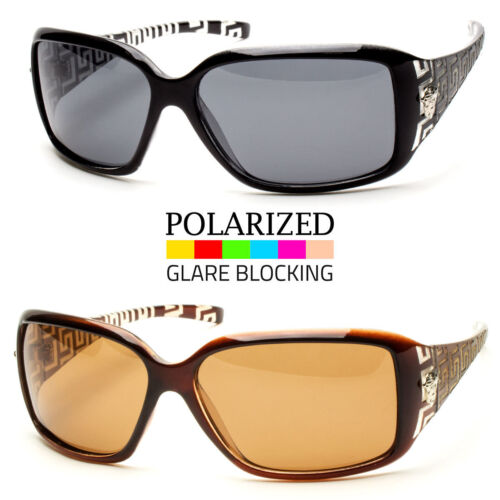 New Eyewear Womens POLARIZED Sunglasses Designer Shades Fashion Wrap Retro Vinta