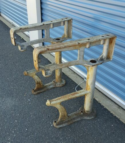 Industrial Kitchen Auctions: Cast Iron Table Legs