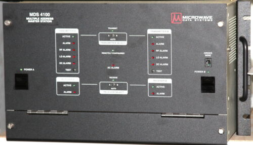 Microwave Data Systems MDS 4100 UHF Multiple Address Master Station for SCADA