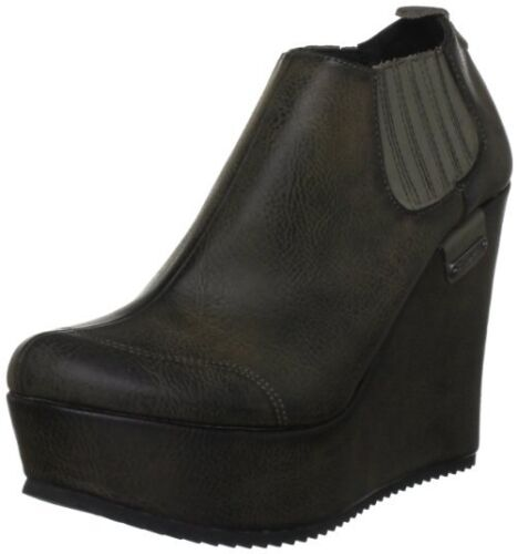 Pepe Jeans Women's brown Wedges Boots Shoes Size 6 7 RRP £85