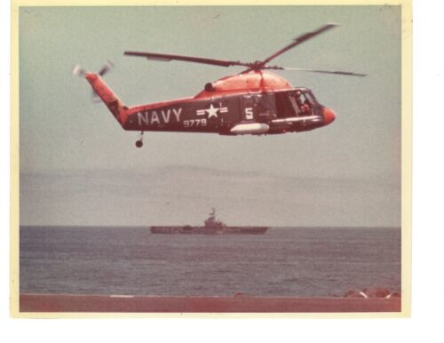 Kaman SH2 Seasprite H2 Navy Helicopter Photograph 8x10 ColorNavy - 66533
