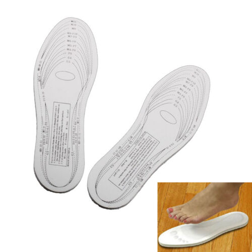 Antibacterial Memory Foam Insoles Shoe Comfort Unisex Size Cushion Feet Pad