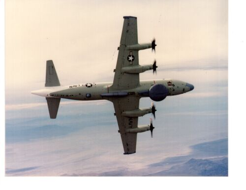 Lockheed Aries EP3E VQ1 Navy Aircraft Photograph 8x10 ColorNavy - 66533