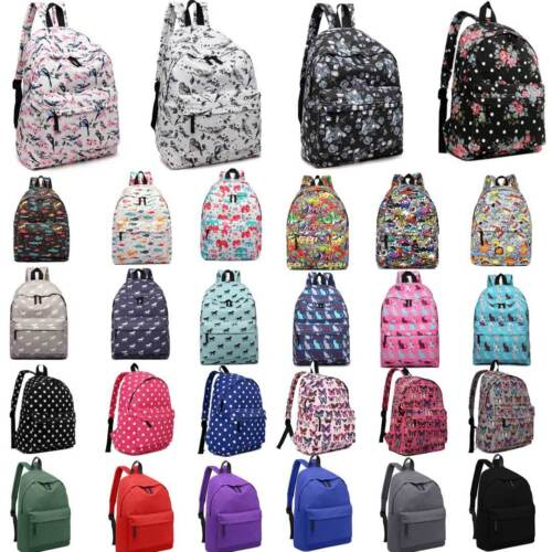 Boys Girls Retro Backpack Rucksack School College Travel Laptop Canvas Bag <br/> FREE DELIVERY. TOP QUALITY , MUST HAVE