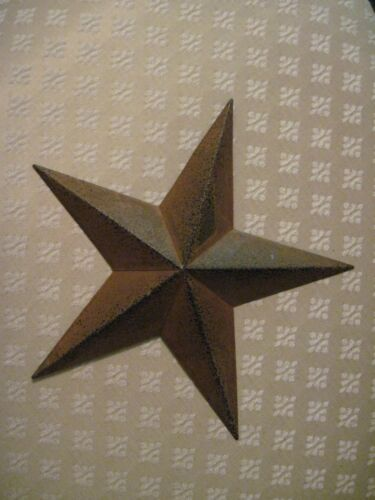 "12"" Rustic Barn Star Metal Primitive"