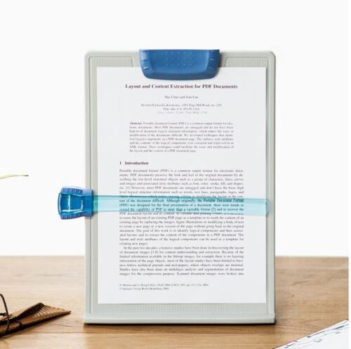 A4 Clip Typing Paper Holder Document Adjustable Copy Paper Reading Stand