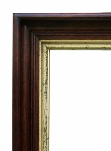 """Large Victorian Walnut Picture Frame, 17 1/2"""" X 21 1/2"""""""